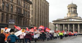 Glasgow's Striking Equal Pay Women Tell Council Chiefs: 'Are You Listening To Us Now?'