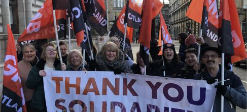 Glasgow Equal Pay – Celebration For Our Women, Reflection For Our Union