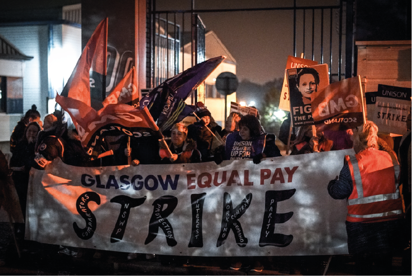 Glasgow Women's Strike: Two Years On